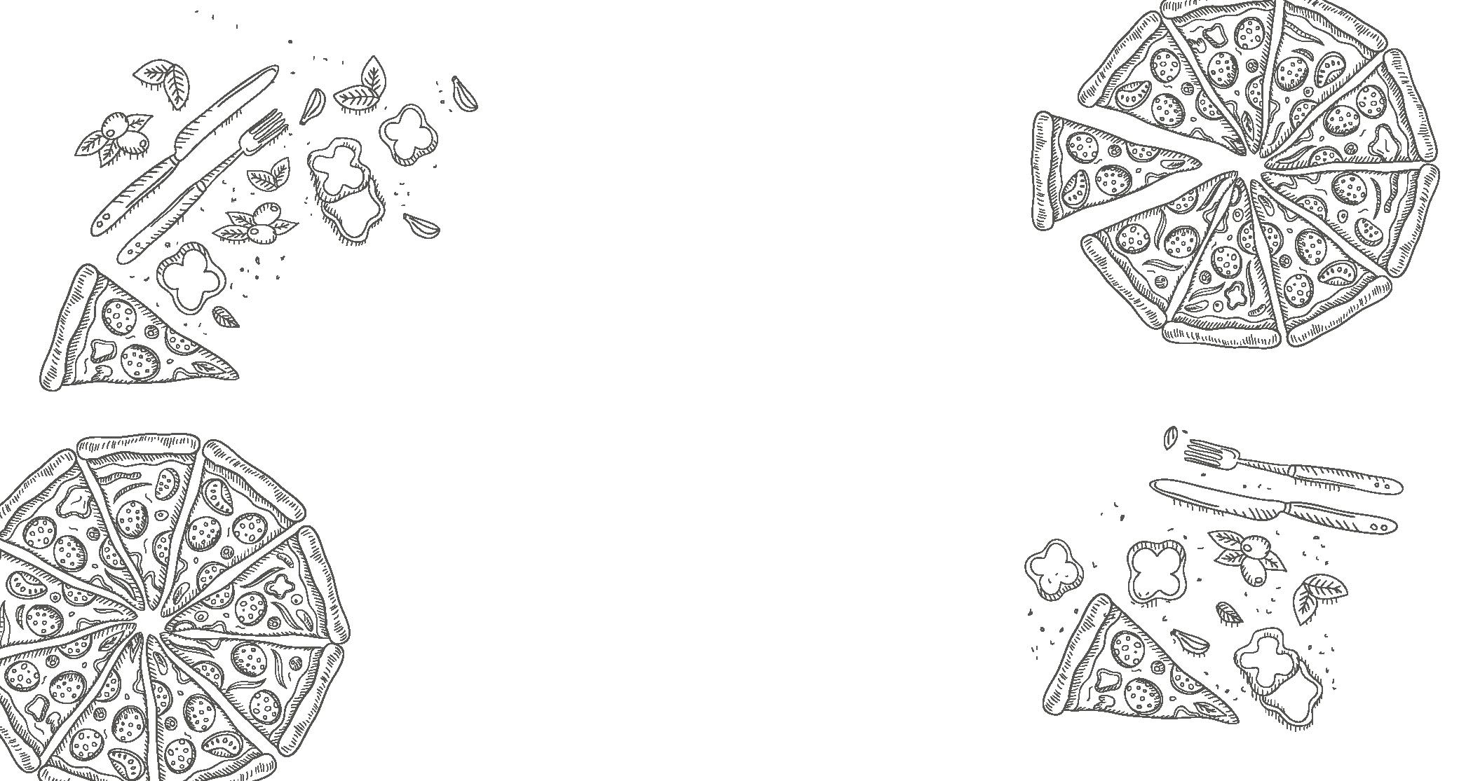 illustration pizza